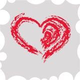 abstrakt hjärtavektor Royaltyfria Foton