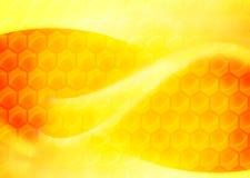 Abstrakt honungbakgrund Royaltyfri Fotografi