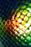 abstrakt honungskaka Arkivfoto