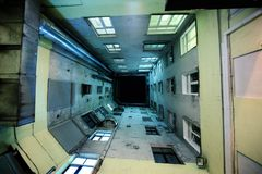 abstrakt hustunnel Arkivbilder