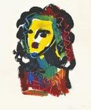 abstrakt huvud Royaltyfria Bilder