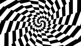 Abstrakt hypnotisk rörelse stock illustrationer