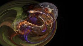 Abstrakt i stånd rörelsebakgrund, energivågor och sömlös ögla för blixt royaltyfri illustrationer