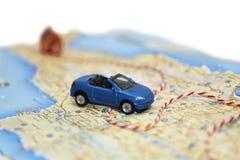 Abstrakt idé av hyra en bil Fotografering för Bildbyråer