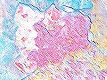 Abstrakt idérik bakgrundstapetillustration Royaltyfri Fotografi