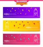 Abstrakt idérik begreppsvektorbakgrund för rengöringsduk- och mobilapplikationer, illustrationmalldesign, affär stock illustrationer