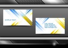 abstrakt idérik vektor för affärskort vektor illustrationer