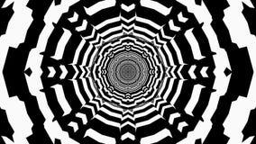 Abstrakt illusion - tunnelbakgrund