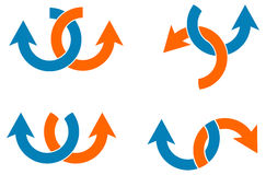 abstrakt illustration vektor illustrationer