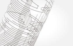 abstrakt illustration Arkivfoto