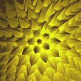 abstrakt illustration 3d kantlagrar låter vara vektorn för oakbandmallen Arkivfoto