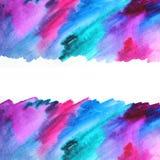 Abstrakt illustration för vattenfärg abstrakt bakgrund Fotografering för Bildbyråer