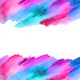 Abstrakt illustration för vattenfärg abstrakt bakgrund Arkivbilder