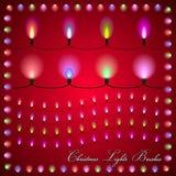 Abstrakt illustration för vektor av färgrika ljus på Royaltyfria Bilder