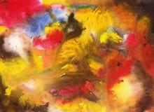 Abstrakt illustration som göras i vattenfärg Fotografering för Bildbyråer