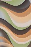 abstrakt illustrationwaves Arkivfoto
