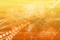 abstrakt industriell nätverksteknologi Royaltyfri Fotografi