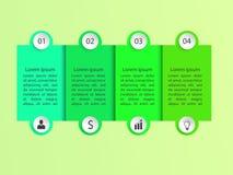 Abstrakt infographic Obraz Stock