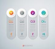 Abstrakt infographicsmalldesign. Royaltyfri Foto