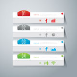 Abstrakt infographicsmalldesign. Royaltyfri Fotografi