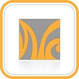 Abstrakt internetsymbol för vektor royaltyfri illustrationer