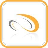 Abstrakt internetsymbol för vektor stock illustrationer
