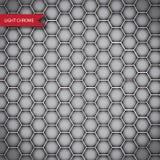 Abstrakt isolerad krommetalltextur Royaltyfri Bild