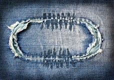 Abstrakt jeansbakgrund Arkivbilder