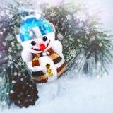 Abstrakt julbakgrund Fotografering för Bildbyråer