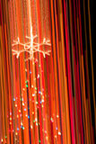 abstrakt jullampatree Royaltyfri Bild
