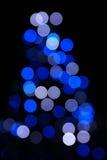 abstrakt jullampor Fotografering för Bildbyråer