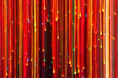 abstrakt jullampor Royaltyfri Fotografi