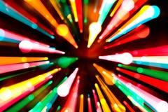 abstrakt jullampor Arkivfoton