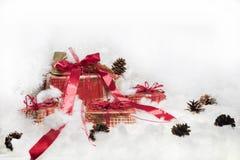 Abstrakt julsammansättning vinter för vektor för snowflakes för blommor för abstraktionbakgrundsblue Royaltyfri Foto
