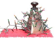abstrakt jultree Fotografering för Bildbyråer