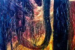 abstrakt kanfas Royaltyfri Bild