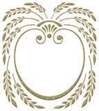 abstrakt kantkorn Royaltyfria Bilder