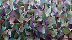 Abstrakt kaotisk triangelmodellbakgrund royaltyfri illustrationer