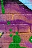 Abstrakt kiści farby tekstury Mieszany tło Obrazy Stock