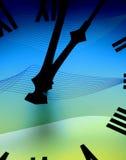 abstrakt klockaframsida Arkivfoton
