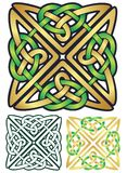 Celtic kvadrerar Arkivfoton