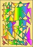 Abstrakt kolorowy Obrazy Royalty Free
