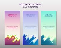 Abstrakt Kolorowy ilustracja wektor
