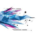 Abstrakt kommunikationsteknologi för vektor Royaltyfria Bilder
