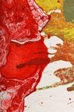 Abstrakt komponujący z ściśniętym powietrzem Obrazy Royalty Free