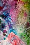 Abstrakt komponujący z ściśniętym powietrzem Fotografia Royalty Free