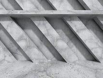 Abstrakt konkret arkitektur texturerad väggbakgrund Royaltyfria Bilder