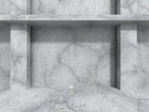 Abstrakt konkret arkitekturbakgrund Texturerad stenvägg Royaltyfri Fotografi
