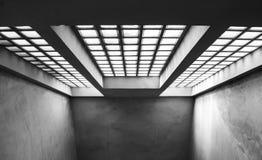Abstrakt konkret arkitekturdetalj Royaltyfri Bild
