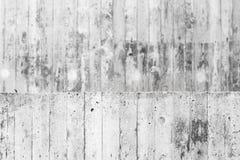 Abstrakt konkret inre, gråa grungy väggar Royaltyfri Bild
